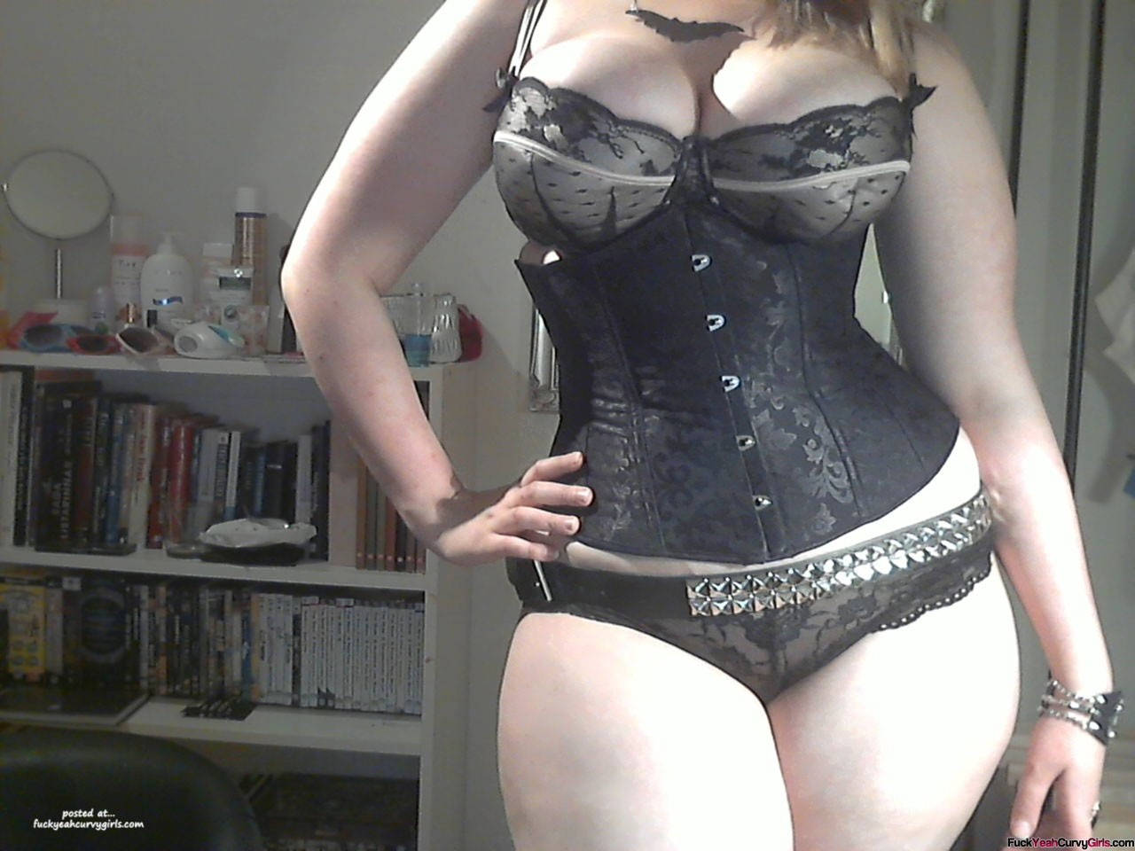 Delicious Curvy Girl In A Corset - Fuck Yeah Curvy Girls