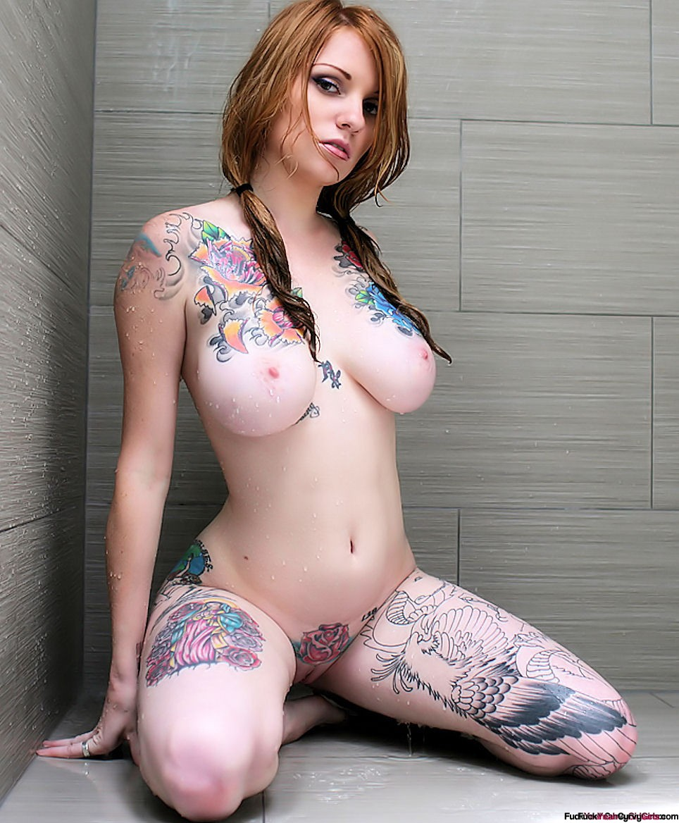 Curvy Big Girls With Tattoos - Sex Porn Images