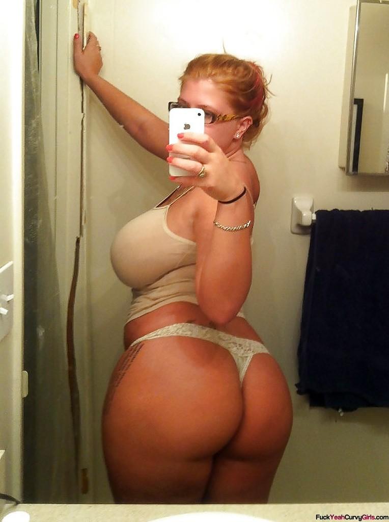 Thick Curvy Girl Selfie - Fuck Yeah Curvy Girls